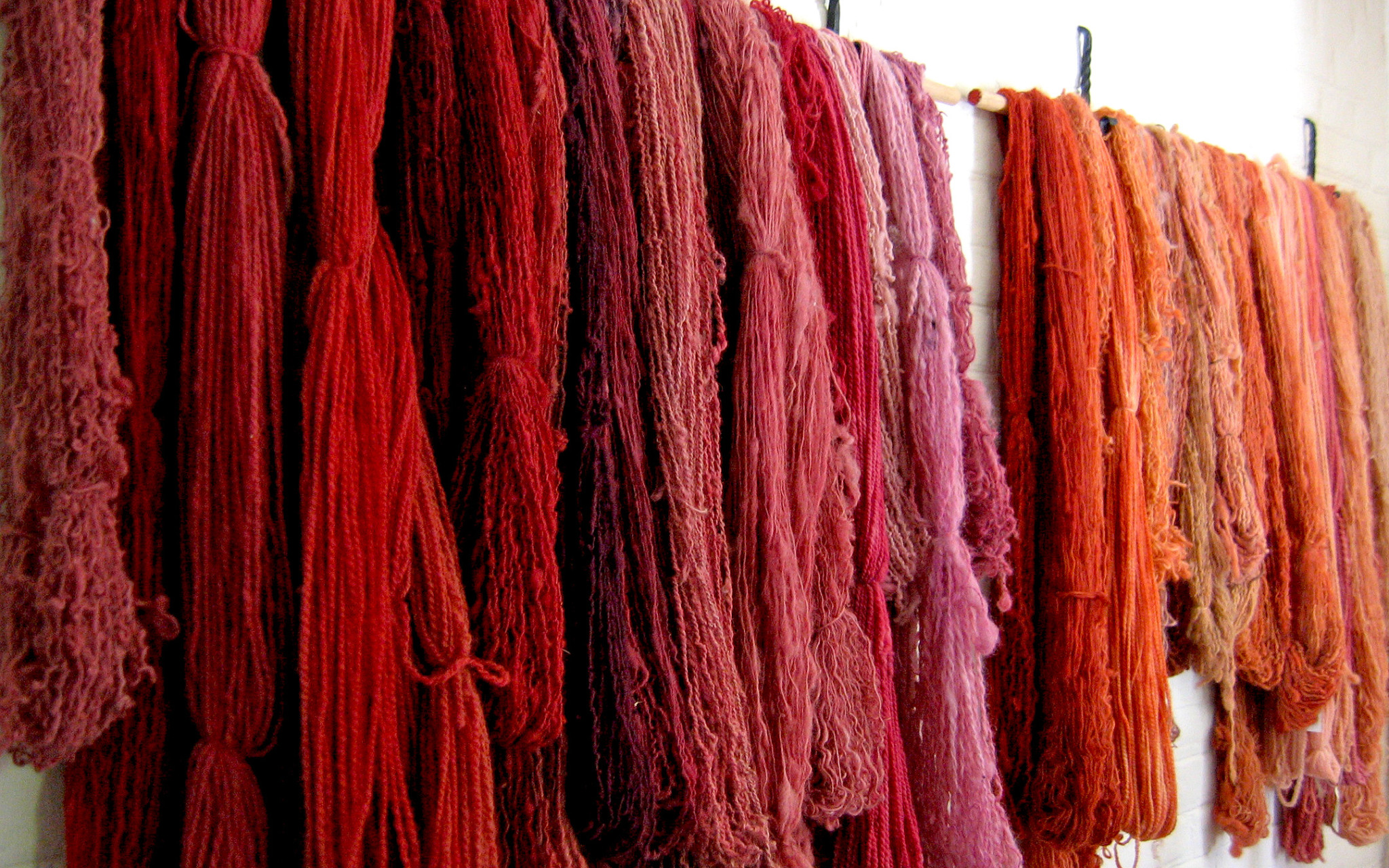 Natural dyes saltscape for The art and craft of natural dyeing