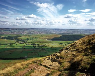 Pendle Hill, an Area of Outstanding Natural Beauty, and another Landscape Partnership.